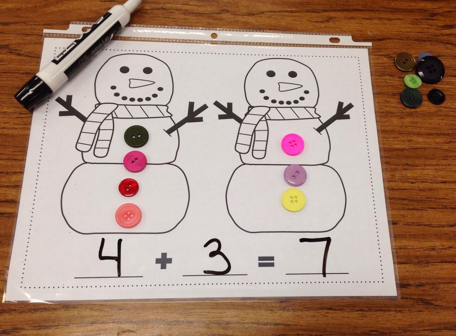 Snowman Unit Fun Full Of Math Literacy Amp Writing