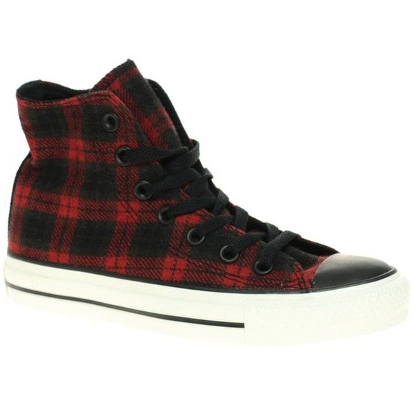 0c9d4128ae8e ... sweden converse all star speciality plaid hi top 58 liked on polyvore  featuring shoes sneakers converse