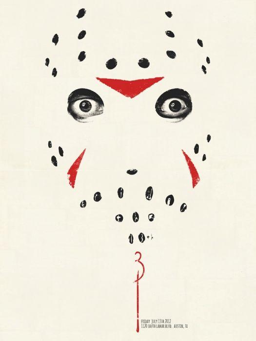 Friday the 13th Part 3: 3D por Jay Shaw