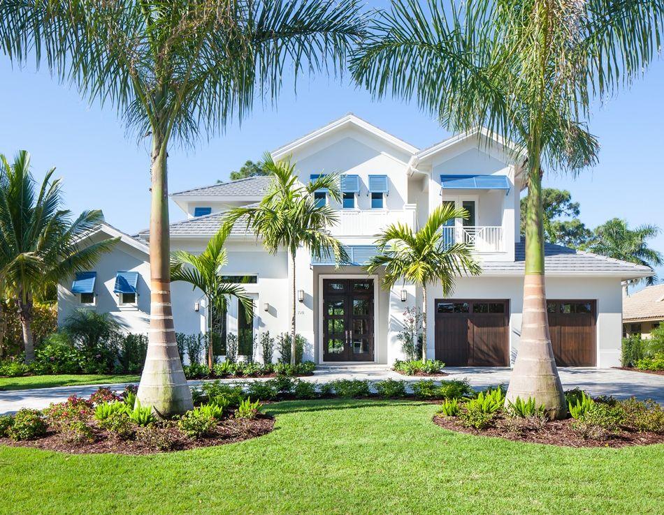 Park Shore G2 3593 Coastal House Plans Beach House Exterior Mediterranean Homes