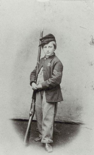 John Clem, Drummer Boy of Shiloh in Battle of Shiloh Forum ...