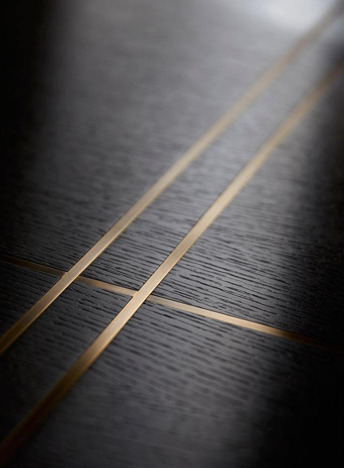 Brass inlay in joinery - Helen Green | FURNITURE design ...
