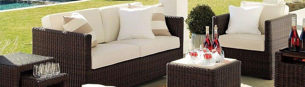 affordable juego de living de ratn para exterior with muebles jardin baratos - Muebles De Exterior Baratos