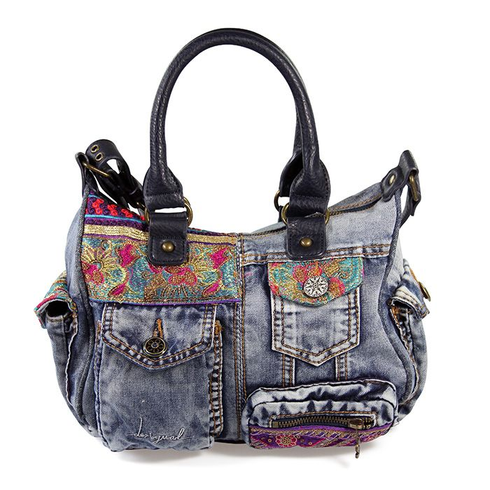 große Vielfalt Stile Shop für authentische neue auswahl Desigual #Jeans #Handtasche #mynewbag   Desigual   Denim ...