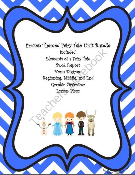 3060f6048e794f519ea9316d3b6d8b9e frozen themed fairy tale unit bundle fairy tales pinterest