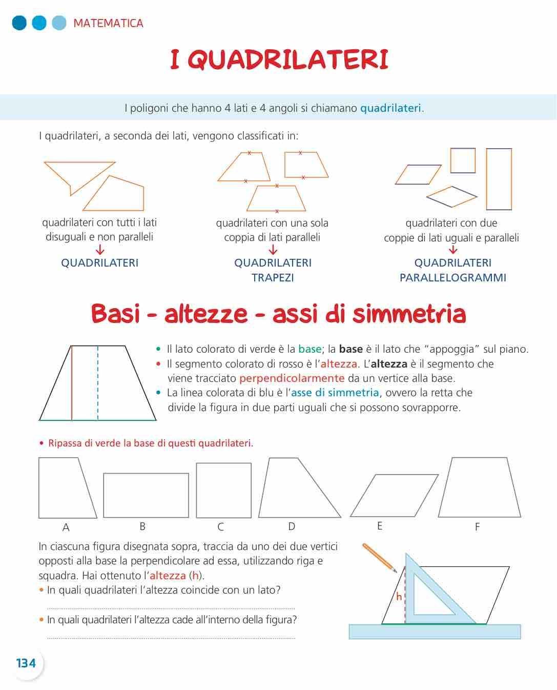 Passo Dopo Passo 4 Matematica Lezioni Di Geometria Libri Di Matematica Lezioni Di Matematica