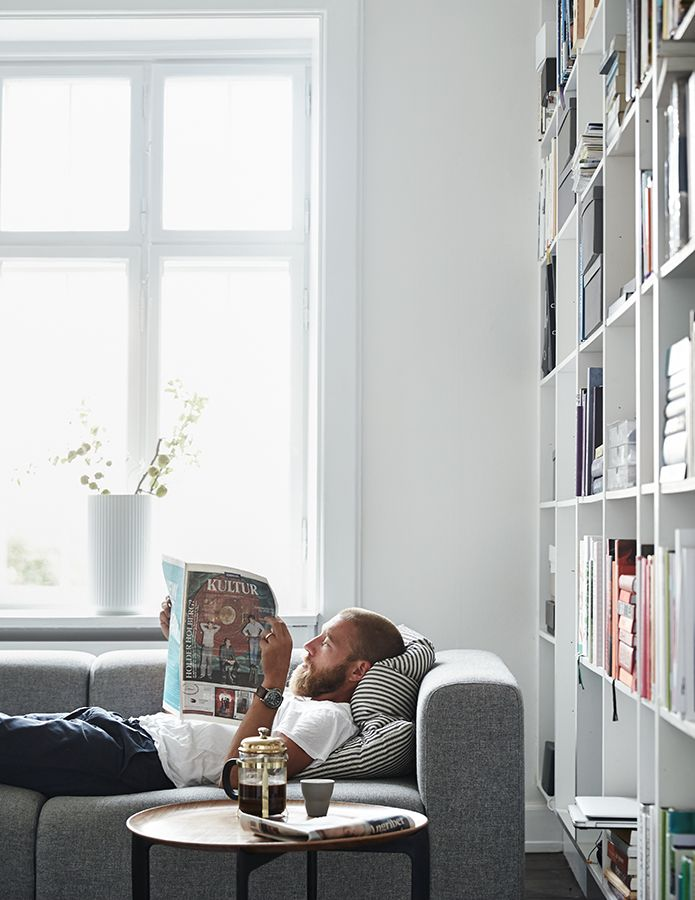 A Day in the Life: Mikkel Karstad - Kinfolk * salon * bibliothèque