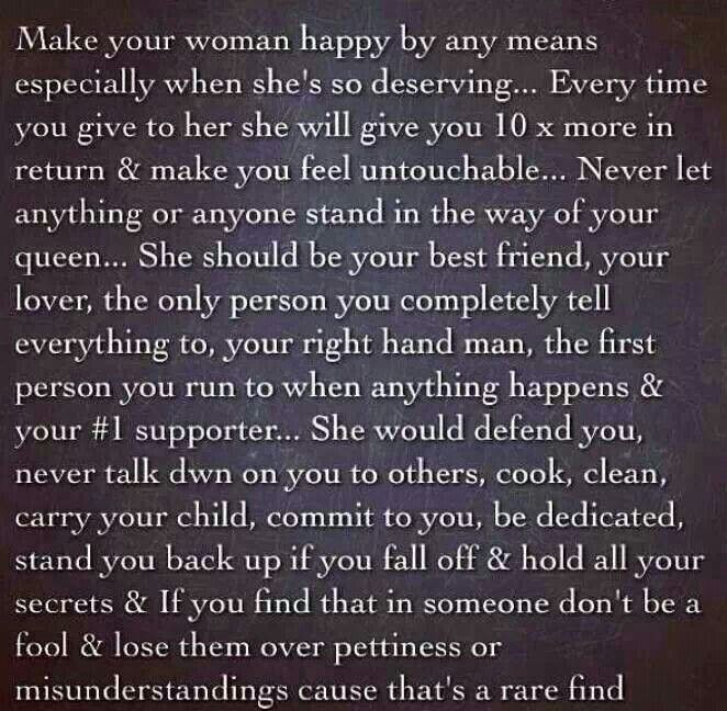 make your woman happy | My kind of love, Feelings, All you ...