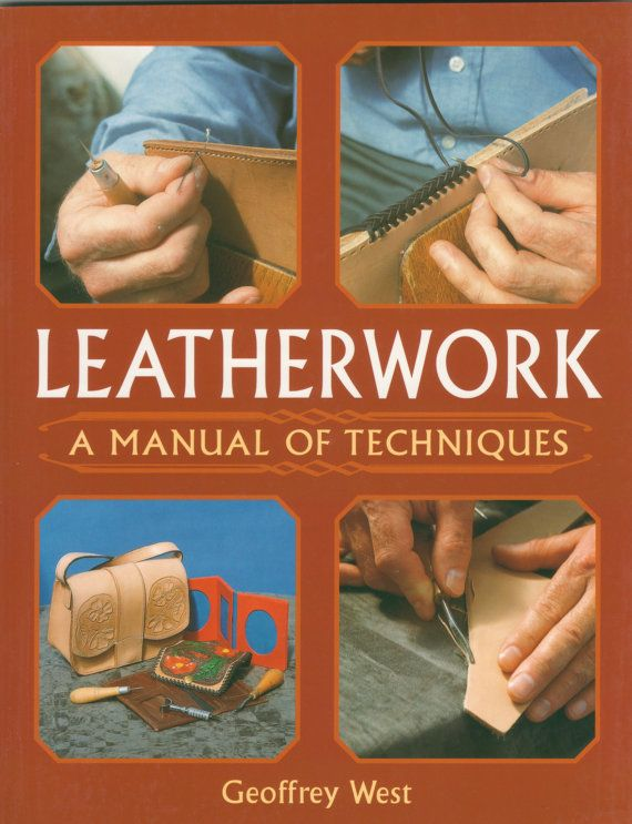 Leatherwork: A Manual of Techniques by ProlepticShop on Etsy