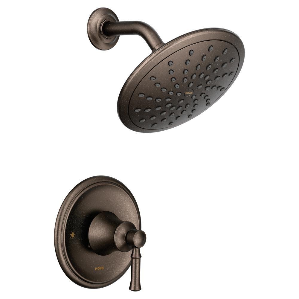 Moen Dartmoor Posi Temp Rain Shower 1 Handle Shower Only Faucet