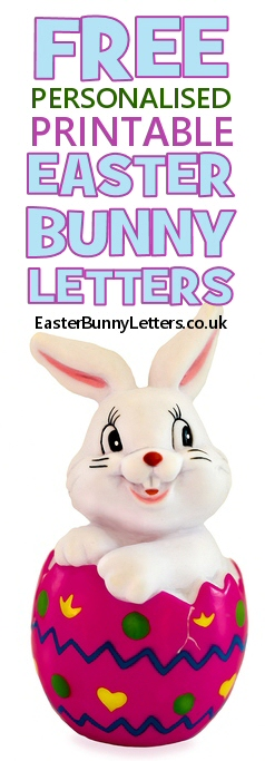 Free Printable Easter Bunny Letters Personalised With Your Kid S Details Print Out Instantly In 2020 Easter Bunny Letter Easter Printables Free Funny Easter Bunny
