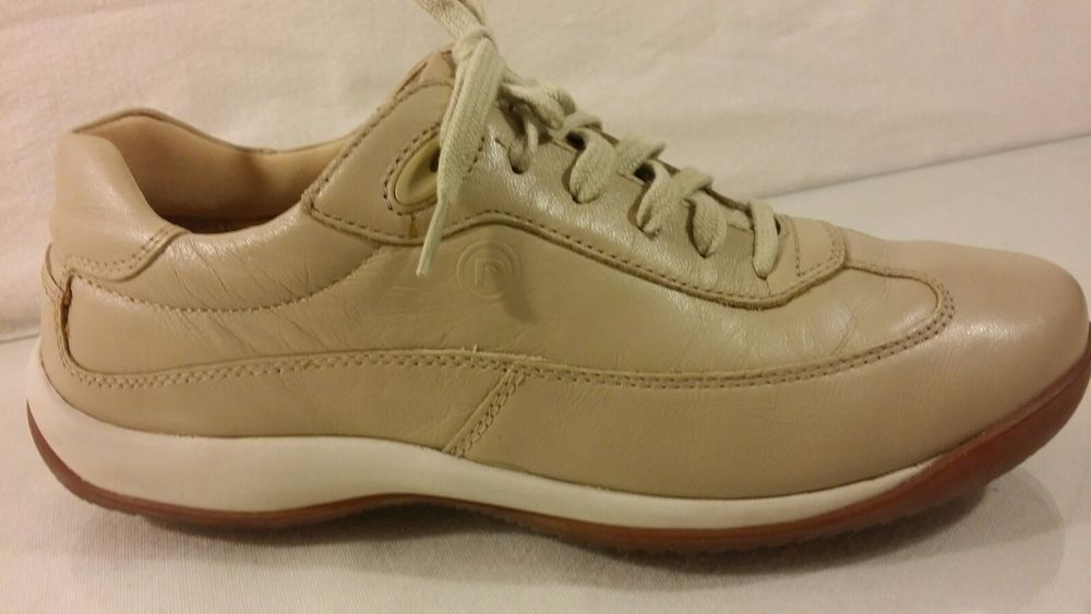 rockport leather sneakers