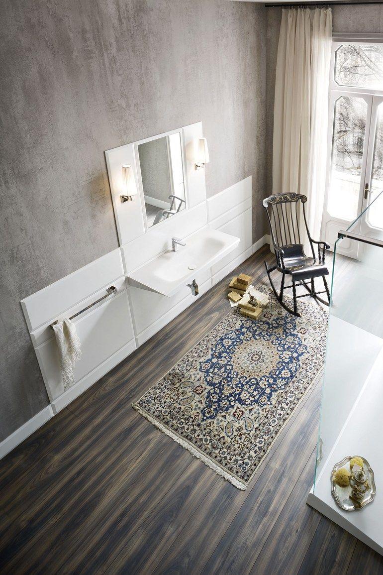 Corian Bathroom Furniture Set Warp By Rexa Design Design Carlo Dal Bianco Rexa Design Bathroom Flooring Options Best Bathroom Flooring Bathroom Flooring