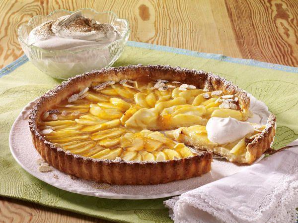 Apfelkuchen - herrlich duftende Verführung - franzoesische_apfeltarte  Rezept