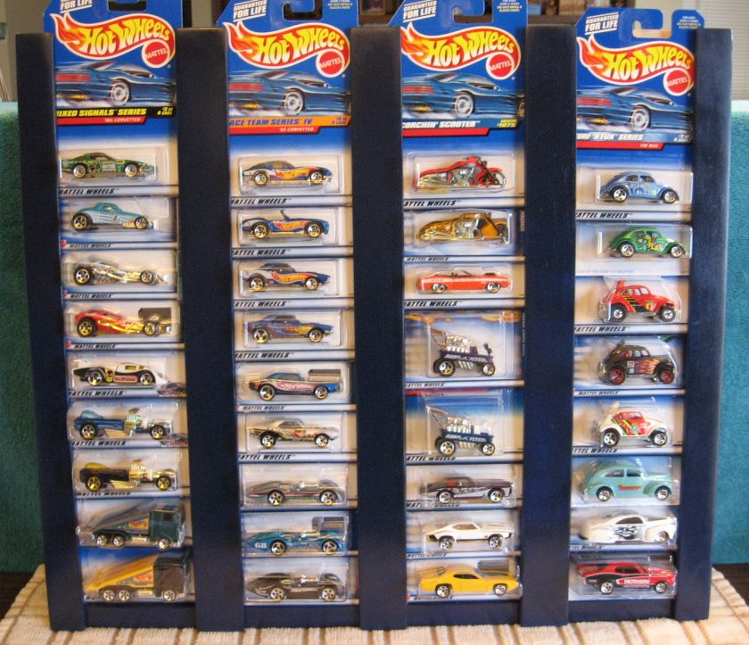 Four Column Carded Decorating Ideas Hot Wheels Display Hot