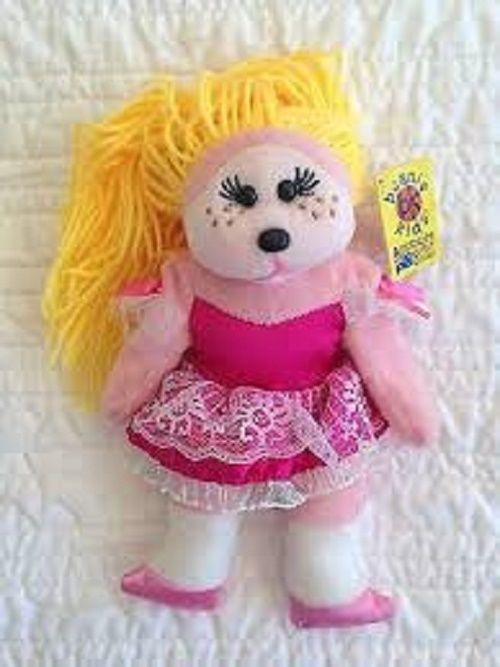 BEANIE KIDS CHARLOTTE THE DOLL BEAR BK888 BRAND NEW  21025cd5950