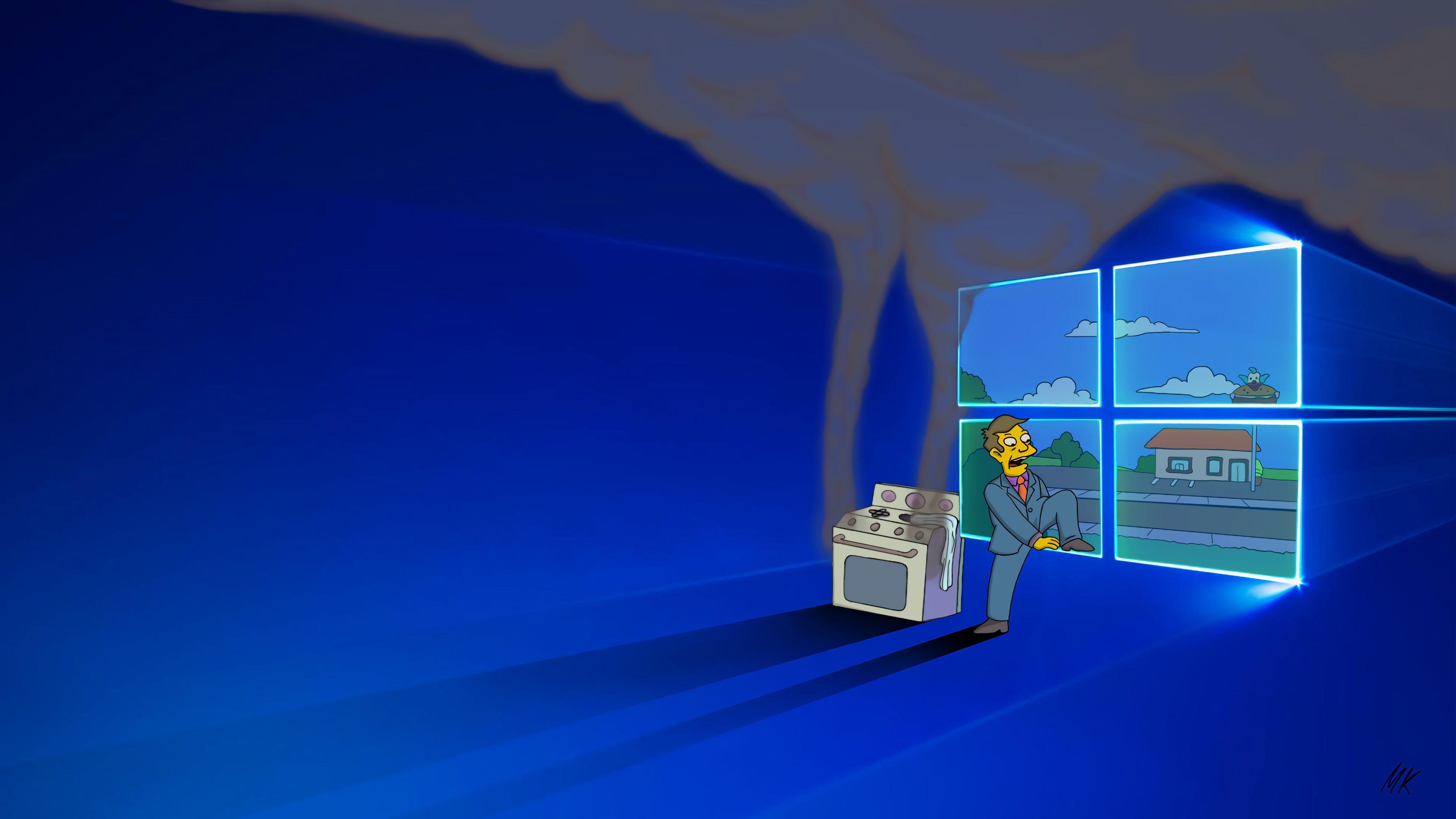 [3840x2160] Steamed Hams. Wallpaper, Windows 10, Desktop