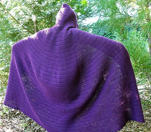 Crochet Full Length Cloak Pattern By Kristina Bridges Cloak