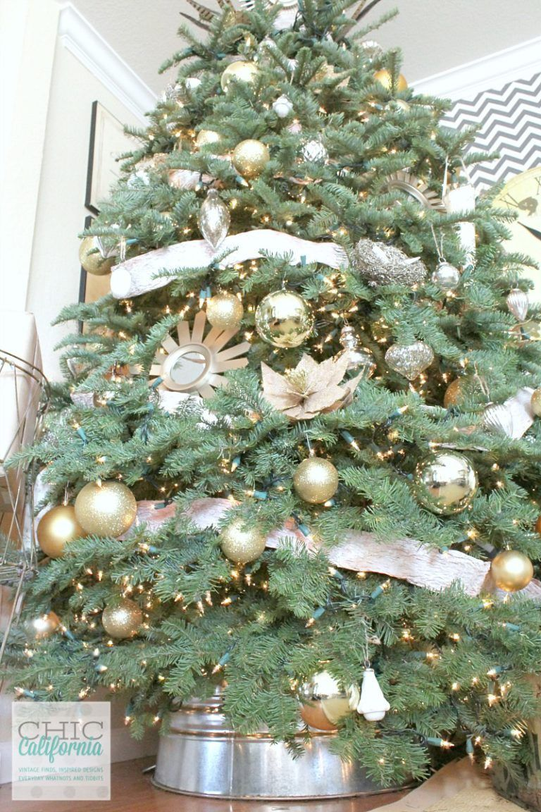 How to Make a C&B Inspired Galvanized Christmas Tree