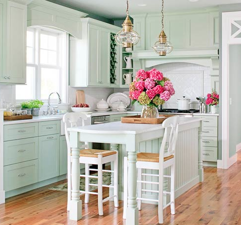 Julianne Hough Kitchen From Better Homes And Gardens Blue 2015