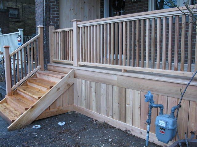 Porch Skirting Ideas Google Search Mobile Home Porch Deck