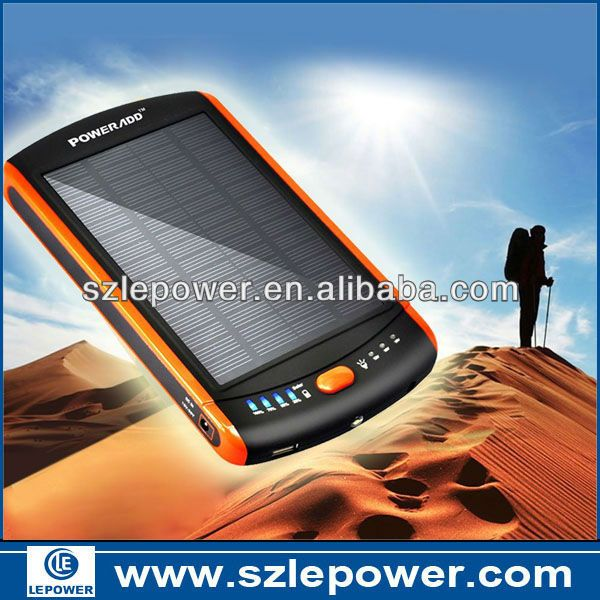 2013 New Products Hot sale Factory 23000mAh Solar Power Bank $60~$75