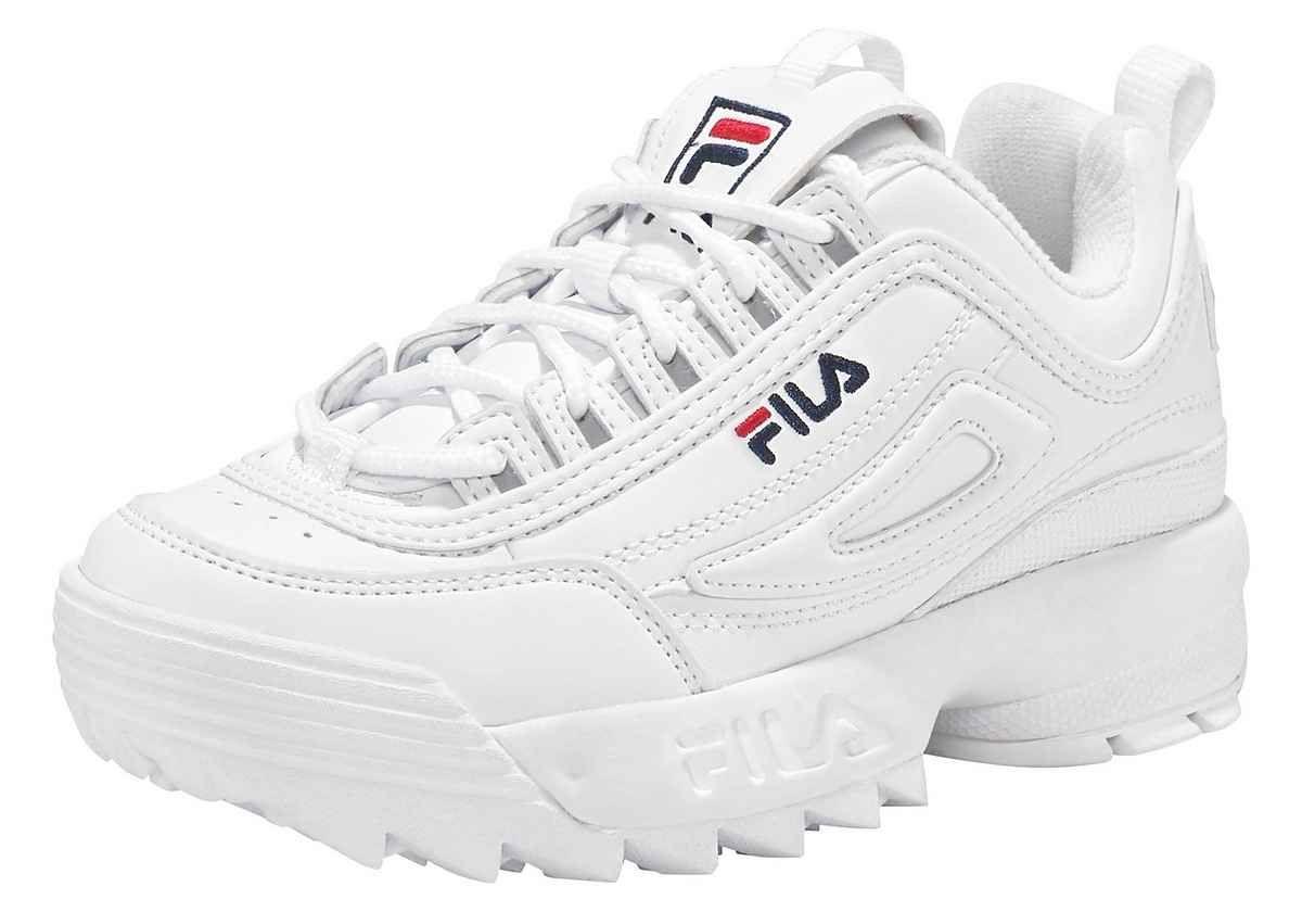 Fila Disruptor Damen Low in 2020 | Fila sneaker, Sneaker