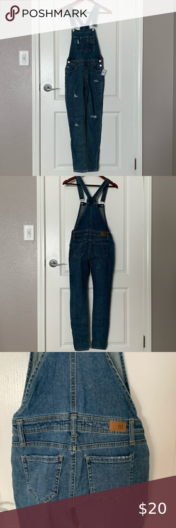 Dk Denim Dungarees  size 10  from Tu with tags