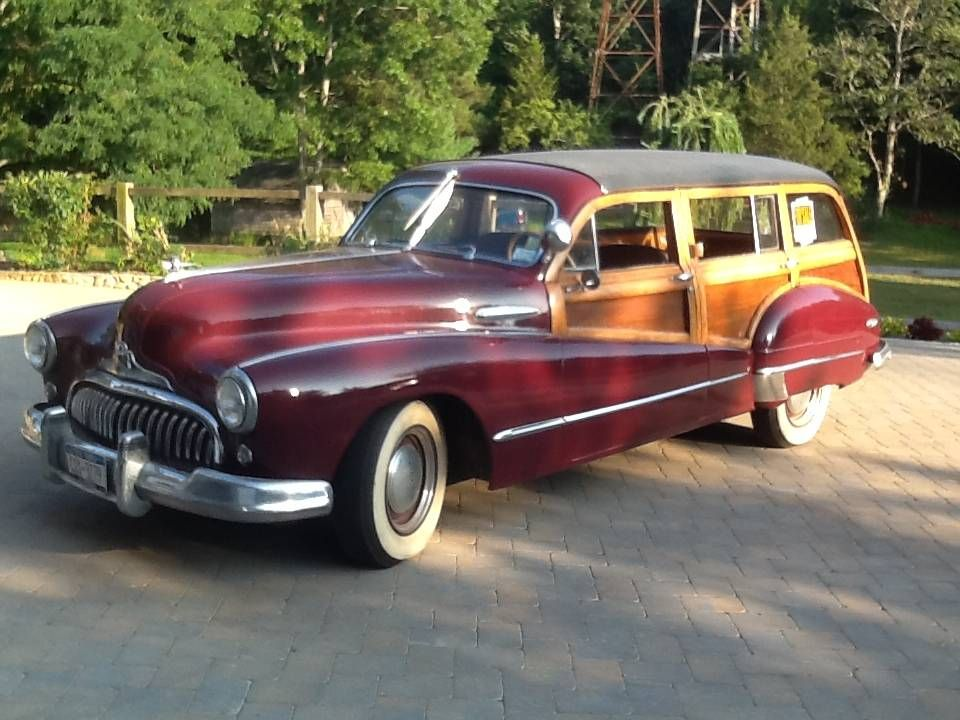 1947 Buick Eight Woody Estate Wagon Only 300 Made 13