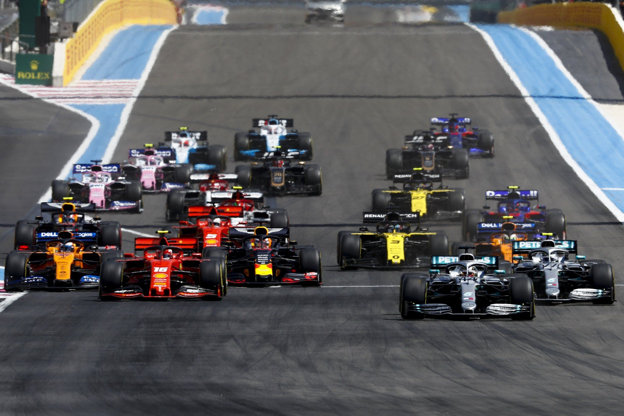 F1 Grand prix, Le castellet, Changement de pneu