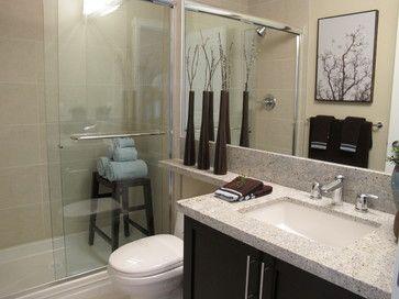 parkside estates - master ensuite bathroom - contemporary