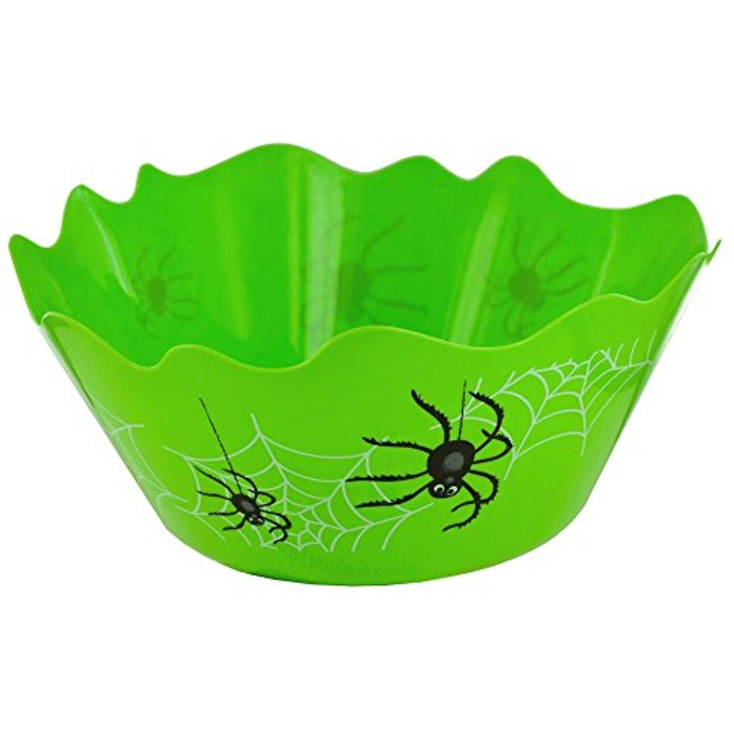 Kole Imports FB377 Large Halloween Spiders Candy Bowl