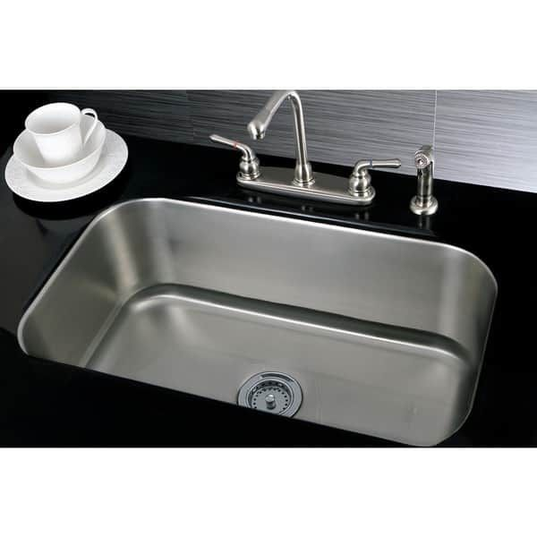 Single Bowl 30Inch Stainless Steel Undermount Kitchen Sink Brilliant Undermount Kitchen Sink Review
