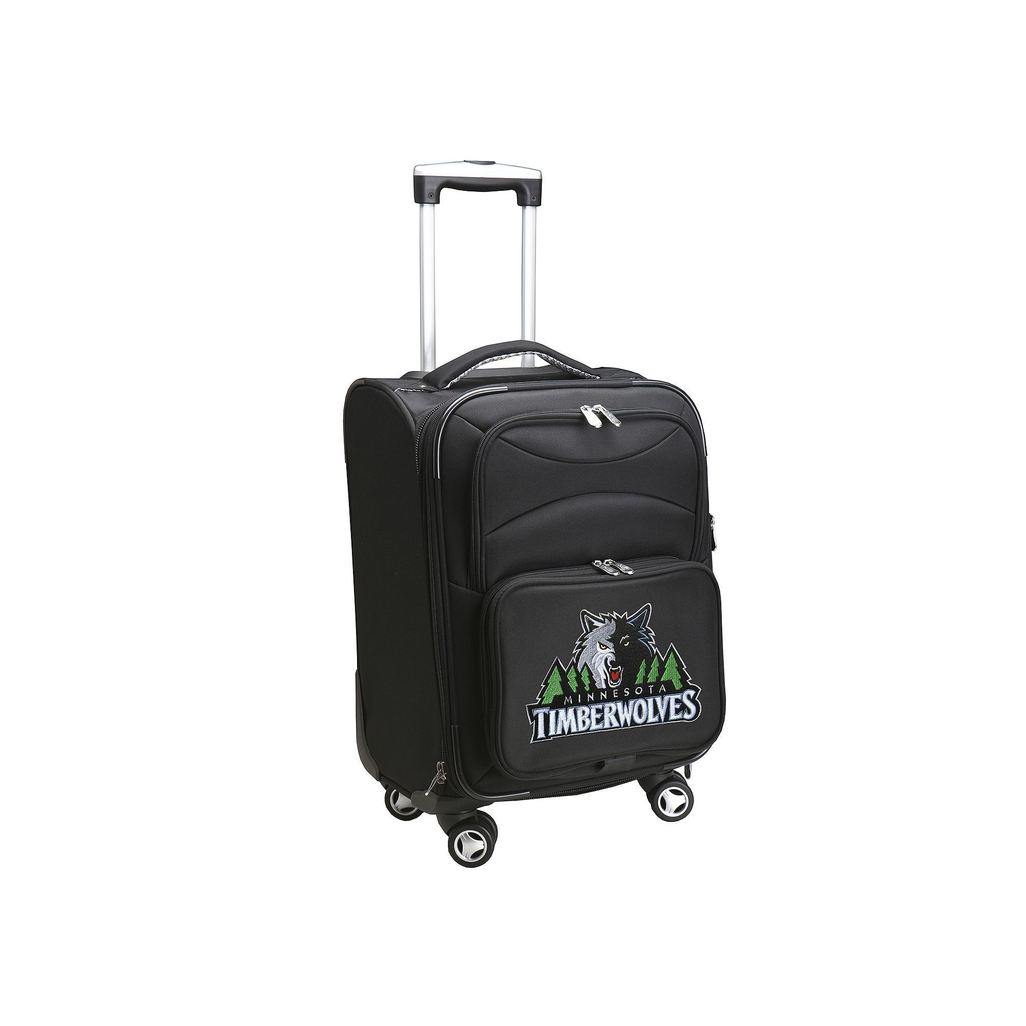 Minnesota Timberwolves 20-in. Expandable Spinner Carry-On, Black