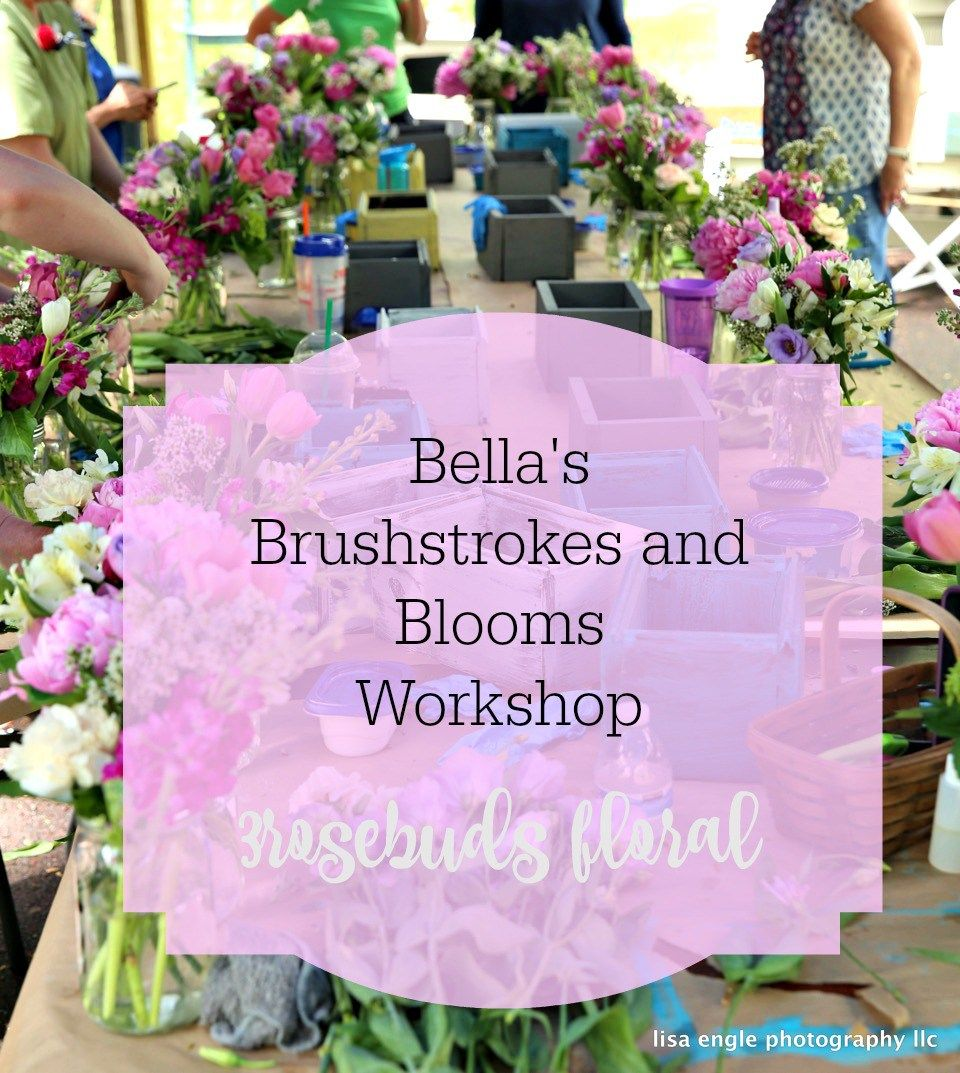 A Beautiful Collaboration: Bella's Brushstrokes and Blooms Workshop