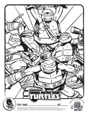 ninja turtle face coloring page images & pictures - becuo ... - Ninja Turtles Face Coloring Pages