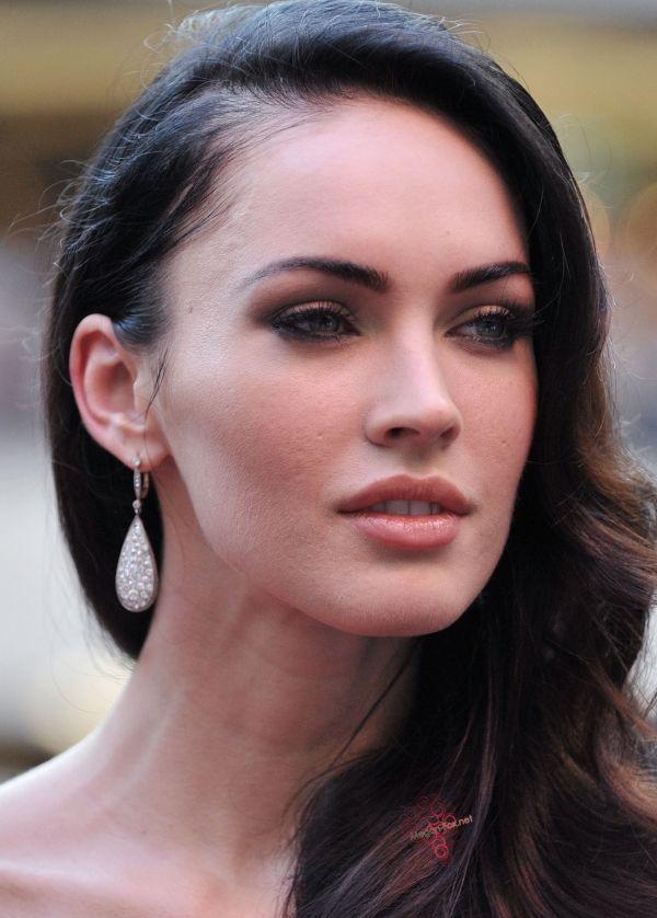Megan fox acne scars