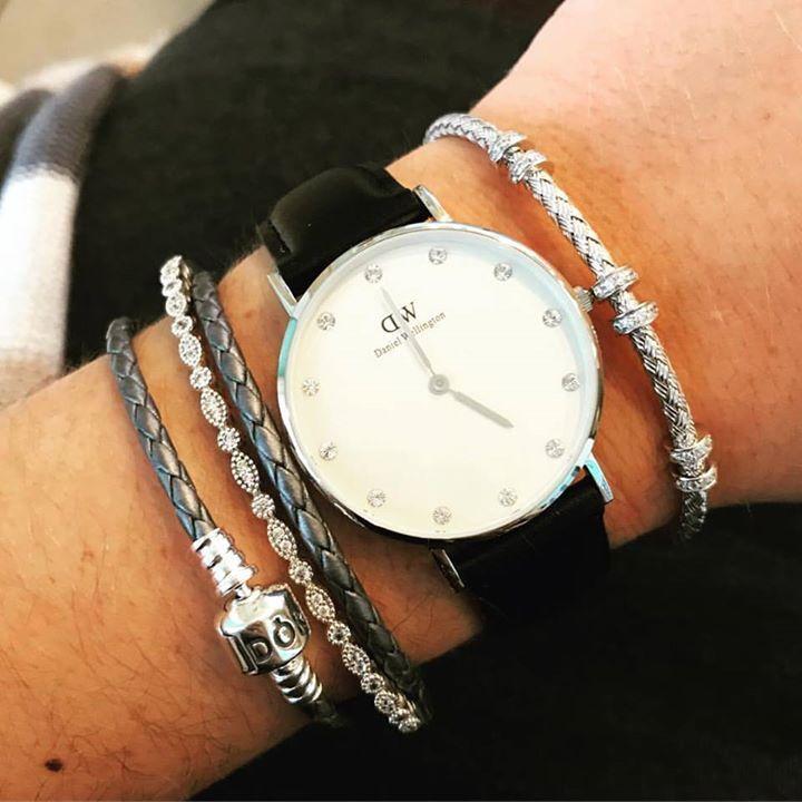 d6244fd3c9f4 Loving this Daniel Wellington Charles Garnier and Pandora Jewelry  combination!  danielwellington  watch  dw  pandora  charlesgarnier   theartofyou ...