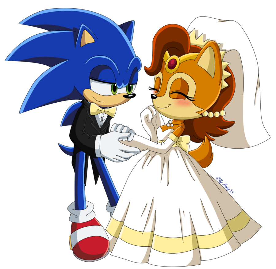 Sally acorn sonic news work pictures to pin on pinterest - Sonic And Sally By Montyth