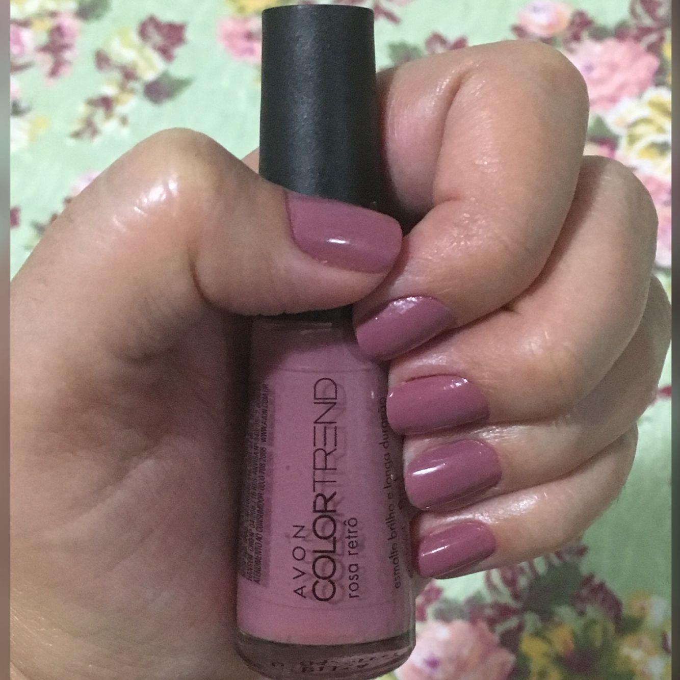 Esmalte ROSA RETRÔ, Avon Color Trend. ;)   Esmaltes   Pinterest ...