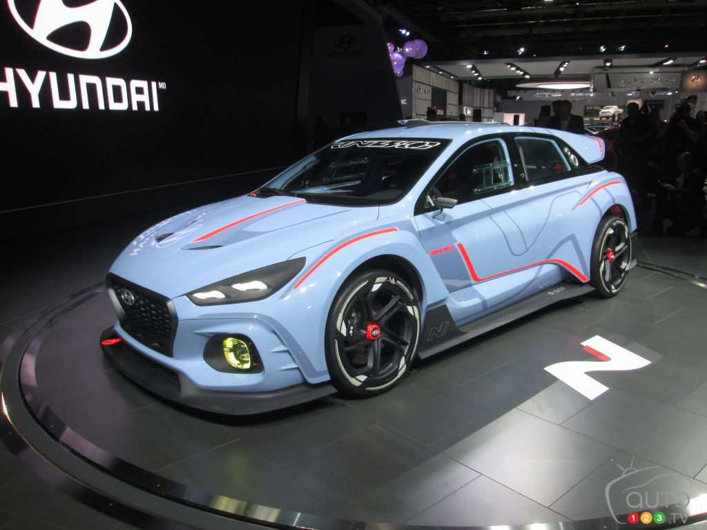 Montreal 2017 Hyundai RN30 concept further explained