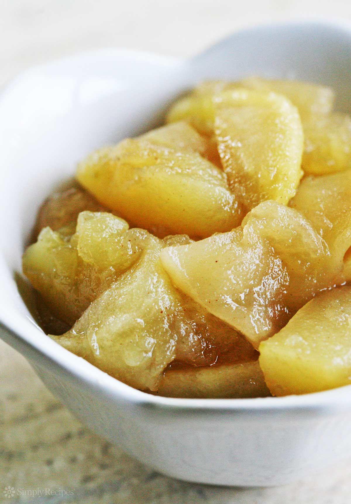 EASY Baked Apple Slices Recipe Easy baked apples