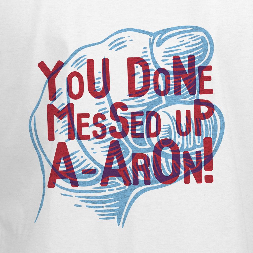 #shirt #shirtdesign #teeshirt #tshirt #popculture #geek #entertainment #tv #television #movie #art #clothing #apparel #sweatshirt #sweater #hoodie #tanktop #funny #funnyshirts #keyandpeele #aaron #keeganmichaelkey #jordanpeele #us #getout