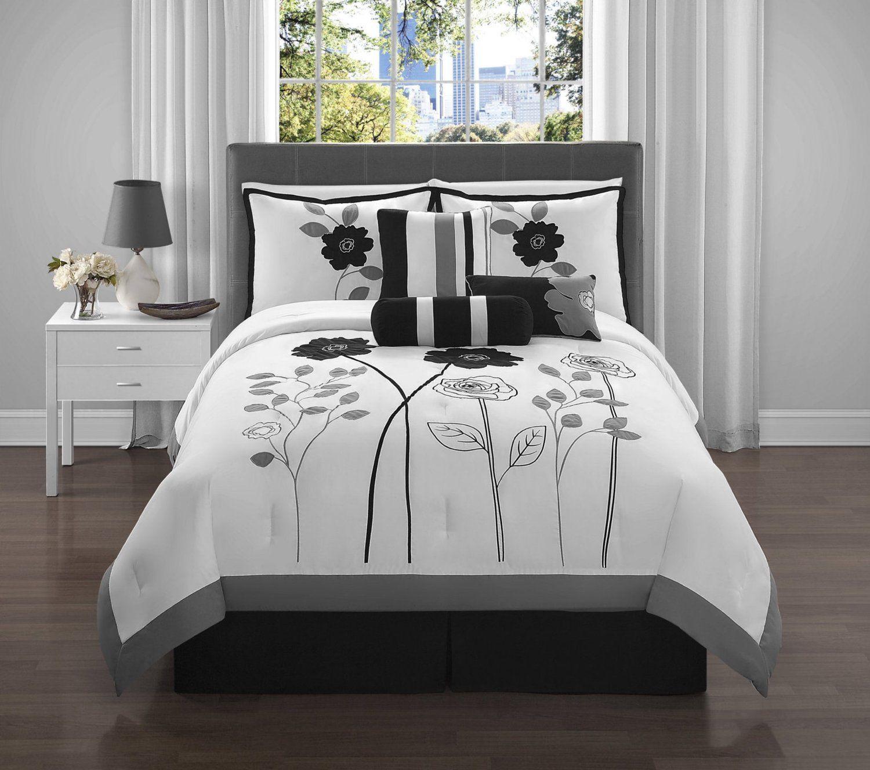 VCNY Adrienne 7Piece Comforter Set, King