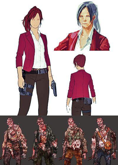 Resident Evil Revelations 2 Concept Art Resident Evil Batman Vs Superman Concept Art