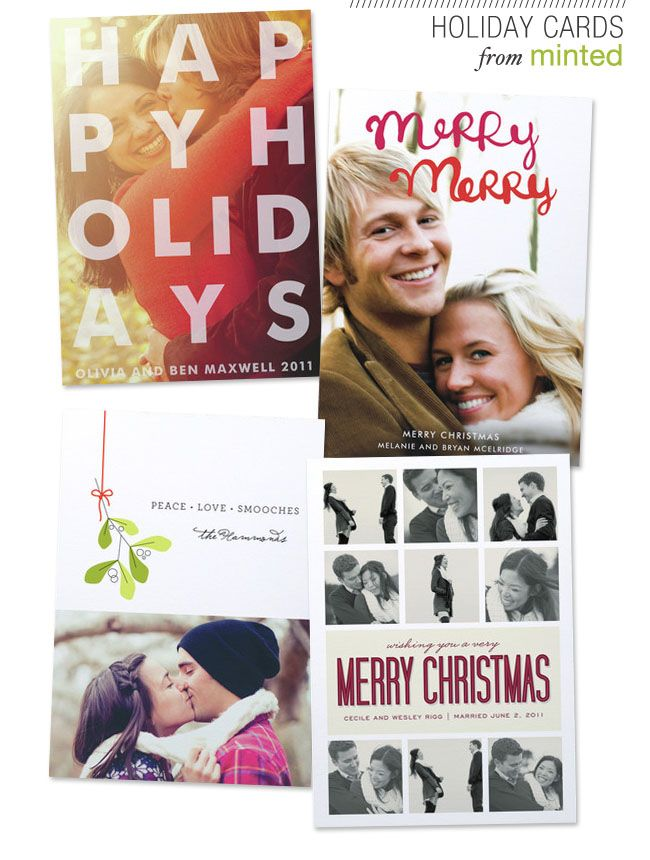 Holiday Cards from Minted   Design   Print   Pinterest   Beautiful ...