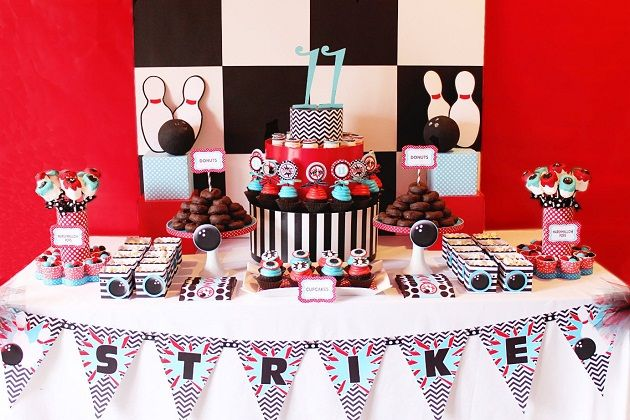 Bowling Birthday Party {Guest Feature} — Celebrations at Home