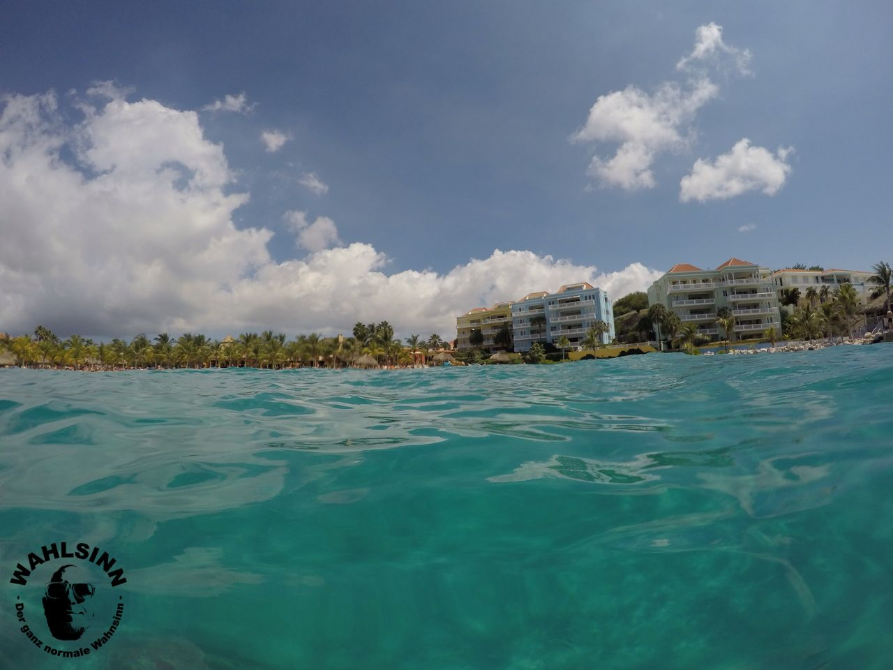 Curacao - kurz vor dem abtauchen in eine wunderschöne Korallenreiche Unterwasserwelt auf Curacao