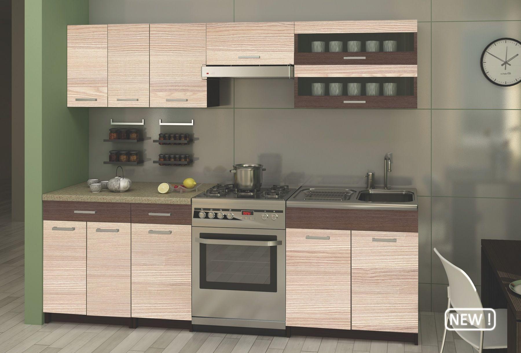 Biwe - 240 cm-es blokk konyha Egyszerű, mégis nagyszerű ...