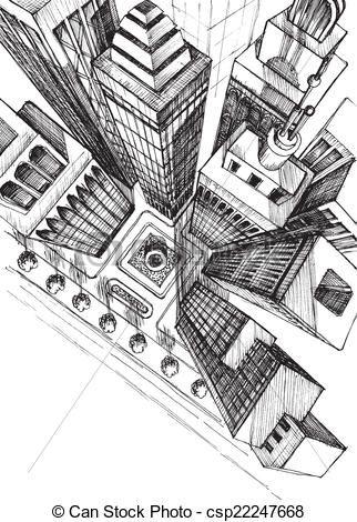 comment dessiner une ville vue de haut city Pinterest